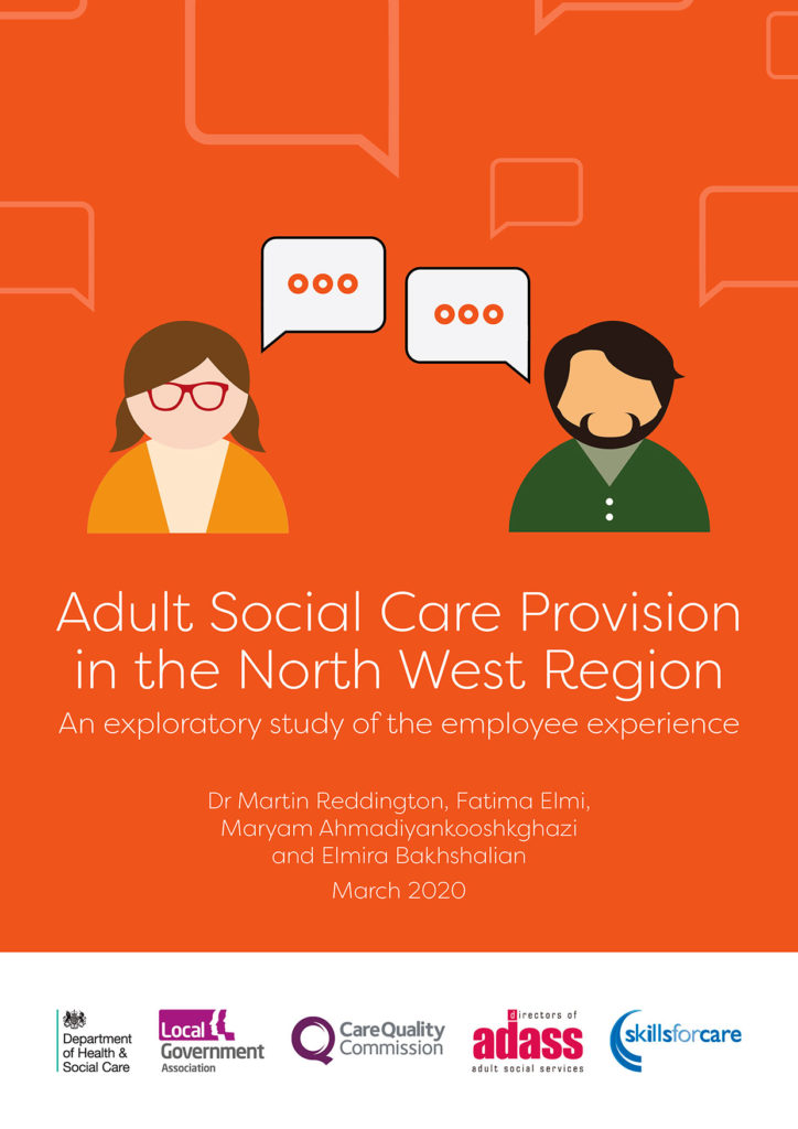 Adult Social Care Report cover