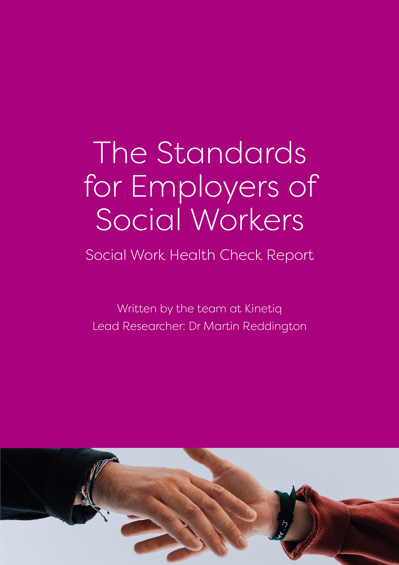 Standards for Employers of Social Workers